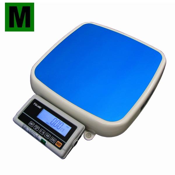 TSCALE FOXII150MRH, 60;150kg/20;50g, 355mmx370mm (Certifikovaná lékařská osobní váha s dvojím rozsahem, provoz síťový i bateriový)