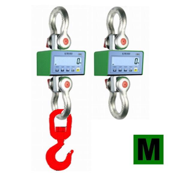 DINI ARGEO MCW, 6t/2kg (Závěsná/jeřábová váha certifikovaná pro obchodní vážení)