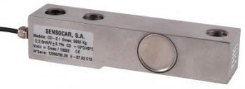 SENSOCAR CO-2, 3t, IP-67, nerez (Tenzometrický střihový snímač pro rohové zatížení SENSOCAR model CO-2)