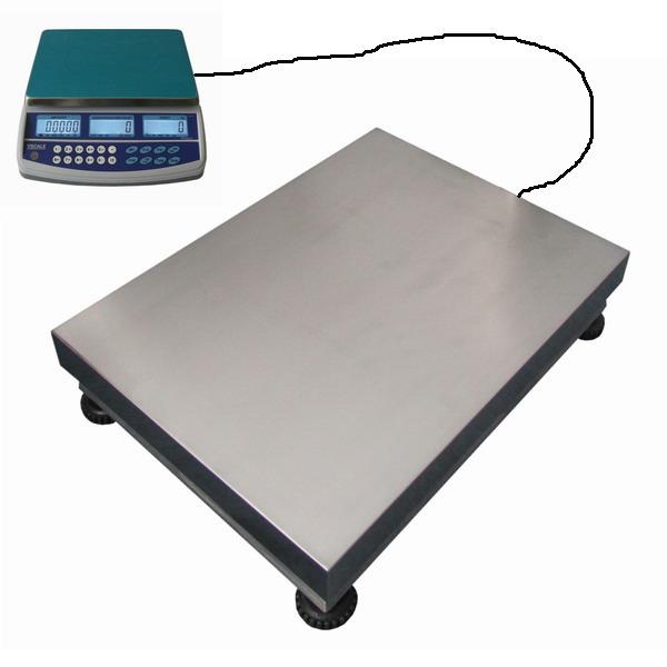 LESAK 1T4560LN150QHD15PLUS, 15kg/150kg, 450mmx600mm (Sestava pro počítání a vážení kusů s velkou přesností)