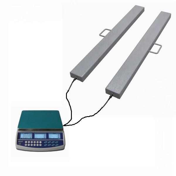LESAK 4TVLL08001500QHD15PLUS, 15kg/1500kg, 800x120mm (Počítací sestava pro kontrolní vážení s velkou přesností)