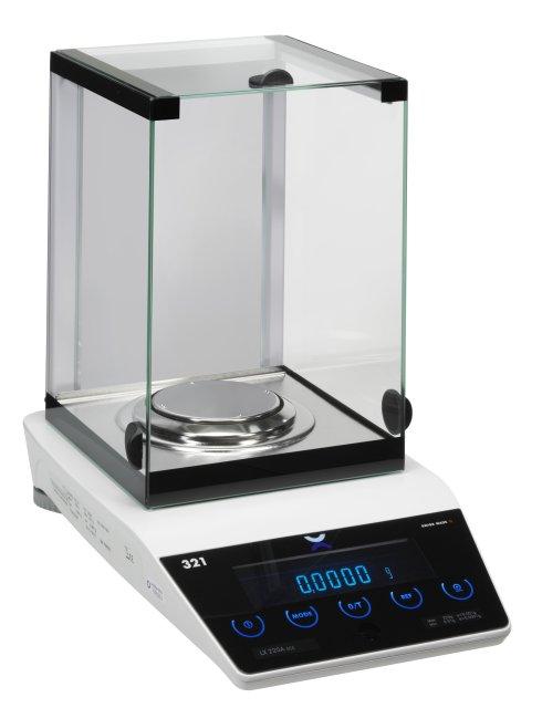 PRECISA LX 220A, 220g/0,1mg, 90mm (Profesionální analytická váha s vnitřní - interní kalibrací)