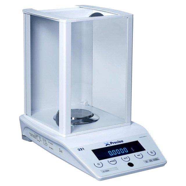 PRECISA LS 220A, 220g/0,1mg, 90mm (Profesionální analytická váha s vnitřní - interní kalibrací)