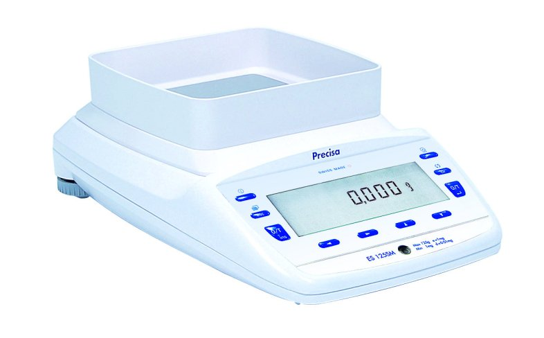 PRECISA ES 920M, 920g/0,001g, 135mmx135mm (Profesionální přesná váha s vnitřní - interní kalibrací)