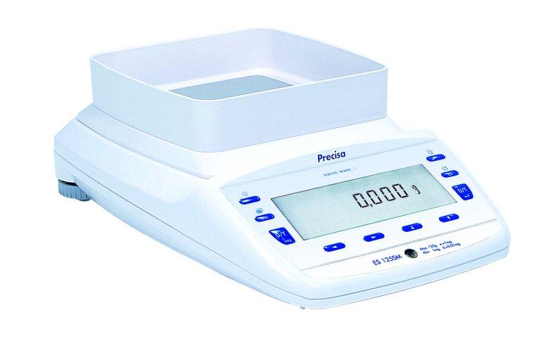 PRECISA ES 620M-FR, 120g;620g/0,001g;0,01g, 135mmx135mm (Profesionální přesná váha s vnitřní - interní kalibrací)