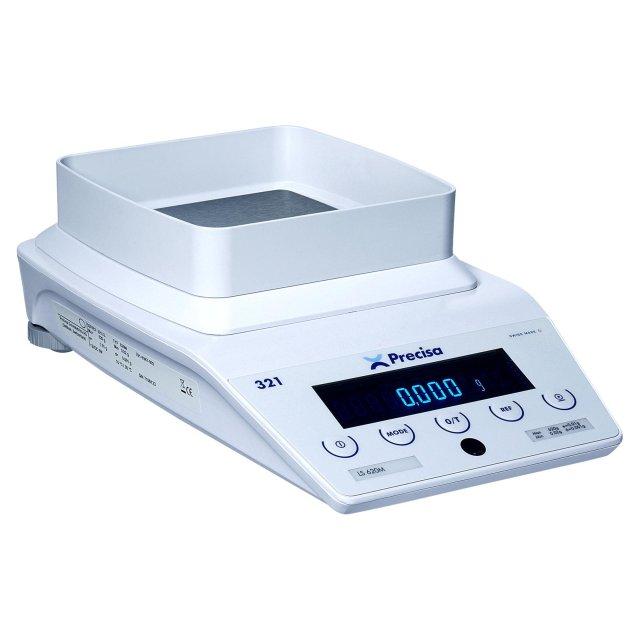 PRECISA LS 320M, 320g/0,001g, 135mmx135mm (Profesionální přesná váha s vnitřní - interní kalibrací)