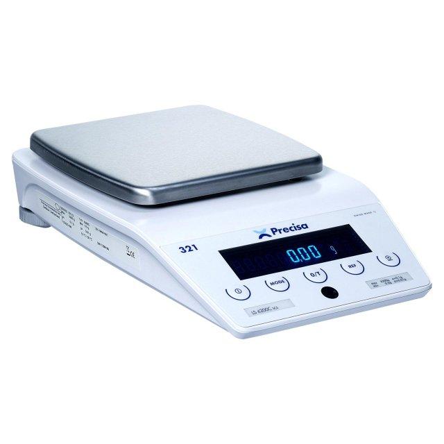PRECISA LS 320C, 320g/0,01g, 200mmx200mm (Profesionální přesná váha s vnitřní - interní kalibrací)