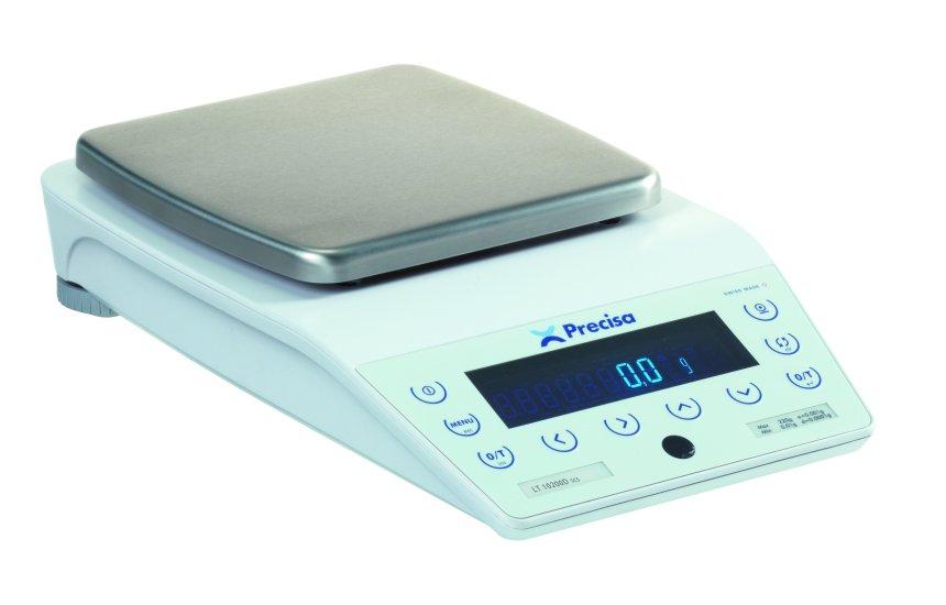 PRECISA LT 10200D, 10200g/0,1g, 200mmx200mm (Profesionální přesná váha s vnitřní - interní kalibrací)