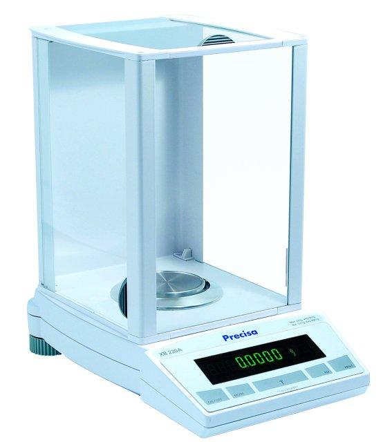 PRECISA XB 220A, 220g/0,1mg, 80mm (Profesionální analytická váha)
