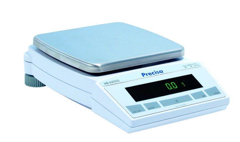 PRECISA XB 6200D, 6200g/0,1g, 200mmx200mm (Profesionální přesná váha)