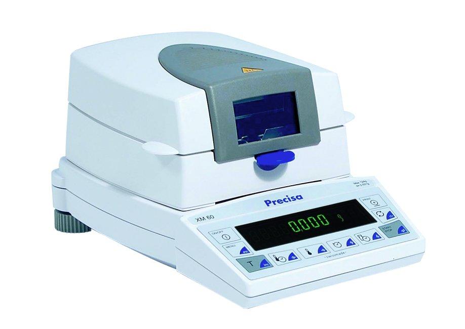 PRECISA XM 60, 124g/1mg, 100mm (Profesionální analyzátor vlhkosti)