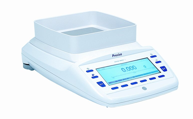 PRECISA EP 1220M, 1220g/0,001g, 135mmx135mm (Profesionální přesná váha s vnitřní - interní kalibrací)