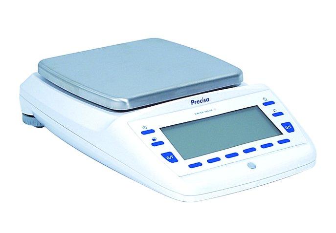 PRECISA EP 6200C-FR, 2200g;6200g/0,01g;0,1g, 200mmx200mm (Profesionální přesná váha s vnitřní - interní kalibrací)