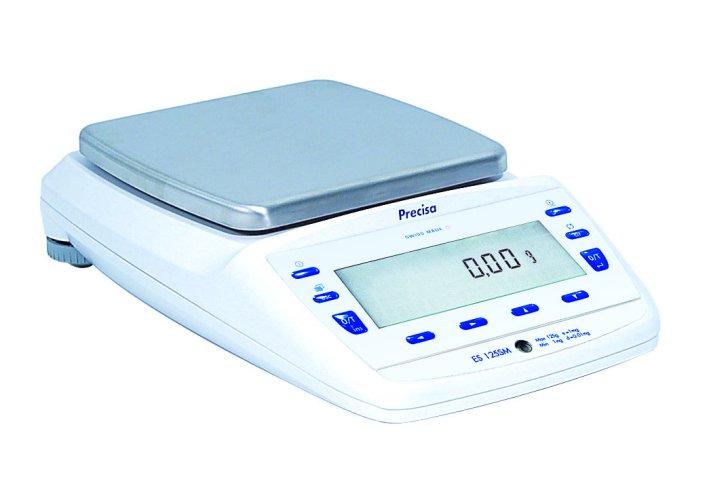 PRECISA ES 6200C-FR, 2200g;6200g/0,01g;0,1g, 200mmx200mm (Profesionální analytická váha s vnitřní - interní kalibrací)