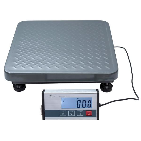 LESAK PS-B, 150kg/50g, 350mmx350mm (Balíková váha pro vážení nejen balíků ale i jiná kontrolní vážení)