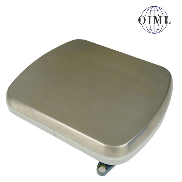 LESAK 1T2530PN, 6kg, 250mmx300mm, plast/nerez (Vážní můstek v plastovém provedení s nerezovým plechem bez vážního indikátoru)