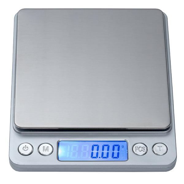 LESAK P221, 2000g/0,1g, miska 100x100mm (Levná kapesní váha pro přesné vážení, vhodná i pro diabetiky)