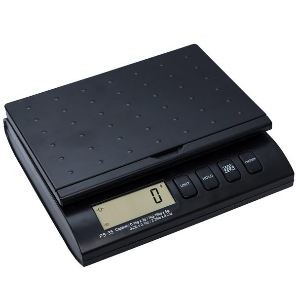 LESAK PS-75, 2kg;34kg/5;10g, 226mmx156mm (Poštovní váha pro vážení listovních zásilek a balíků)
