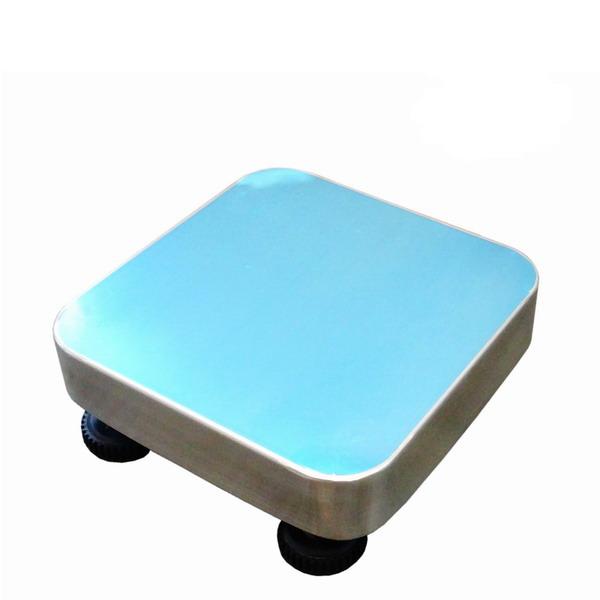 LESAK 1T3030LN, 150kg, 300x300mm, l/n (Konstrukce vážního můstku 1T3030LN v lakovaném provedení s nerezovým plechem bez snímače)