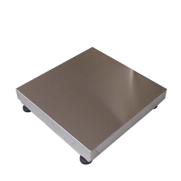 LESAK 1T6060LN, 600kg, 600mmx600mm, l/n (Konstrukce vážního můstku 1T6060LN v lakovaném provedení s nerezovým plechem bez snímače)
