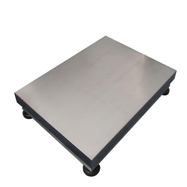 LESAK 1T6080LN, 500kg, 600mmx800mm, l/n (Konstrukce vážního můstku 1T6080LN v lakovaném provedení s nerezovým plechem bez snímače)