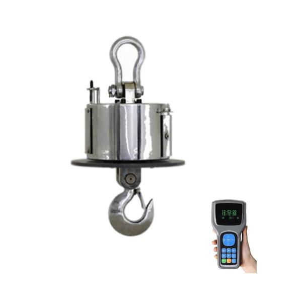 LESAK JDV-OS, 20t/10kg, váha do slévárny pro vysoké teploty (Závěsná jeřábová váha s ochranným štítem pro vysoké teploty s ručním bezdrátovým displejem )