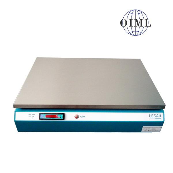 LESAK 1T4060LNTLB4, 15kg/5g, 400mmx600mm (Kompaktní stolní obchodní váha s USB portem)