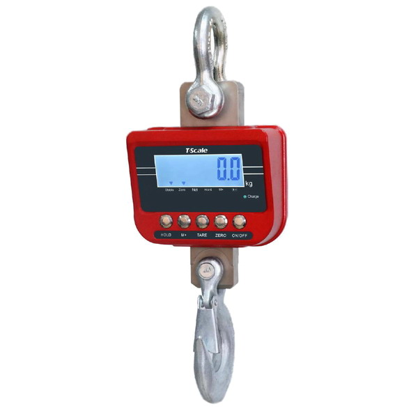 TSCALE TN-3000k, 3000kg/1kg (Závěsná jeřábová váha )
