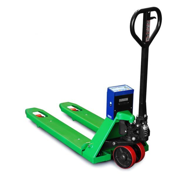 DINI ARGEO TPWNBT, 2t/0,2kg, 550x1150mm (Paletový vozík s váhou do 2000kg)