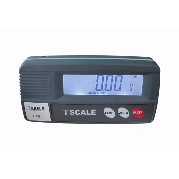 TSCALE TP-01, IP-54, plast, LCD (Vzdálený displej pro připojení k výrobkům Tscale)