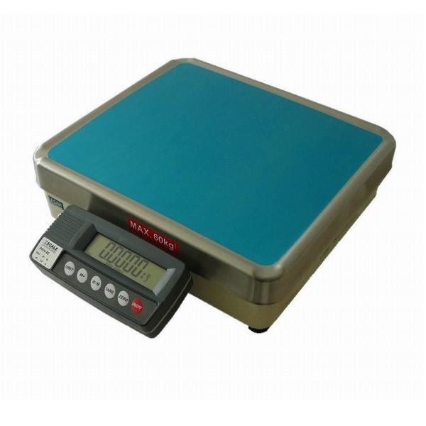 TSCALE PRW++60, 60kg/0,5g, 320mmx360mm (Stolní váha pro kontrolní vážení s režimem tolerance hmotnosti)