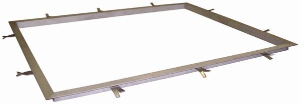 Rám nerezový PR1215N pro váhy 4T1215 (Nerezový rám pro zabudování při umístění váhy do podlahy)