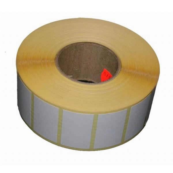 Termoetiketa šíře 55mm, délka 25mm (Kotouč termoetiket 55x25mm, 500ks na kotouči)
