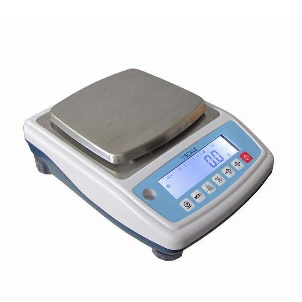 TSCALE NHB6000, 6000g/0,1g, 140mmx150mm (Levná profesionální laboratorní váha pro přesné vážení)