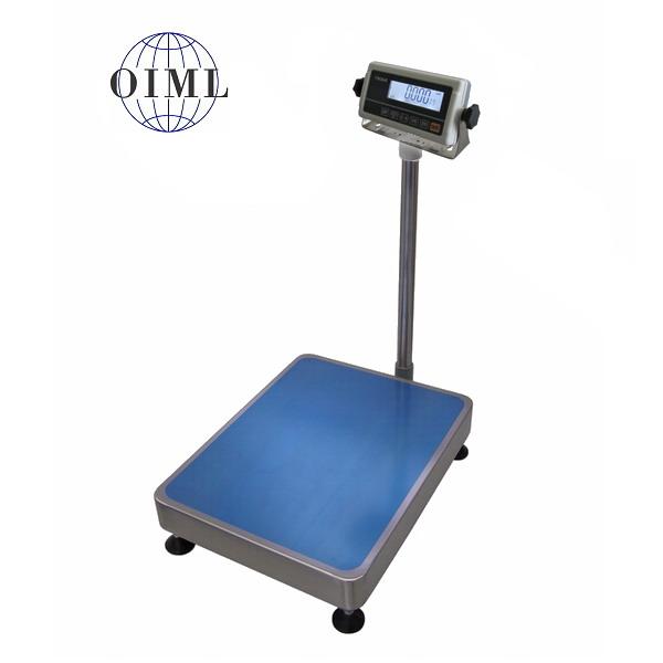 LESAK 1T3545LN-RWP/DR, 60;150kg/20;50g, 350mmx450mm, l/n (Stolní váha s plastovým vážním indikátorem na stativu s dvojím rozsahem)