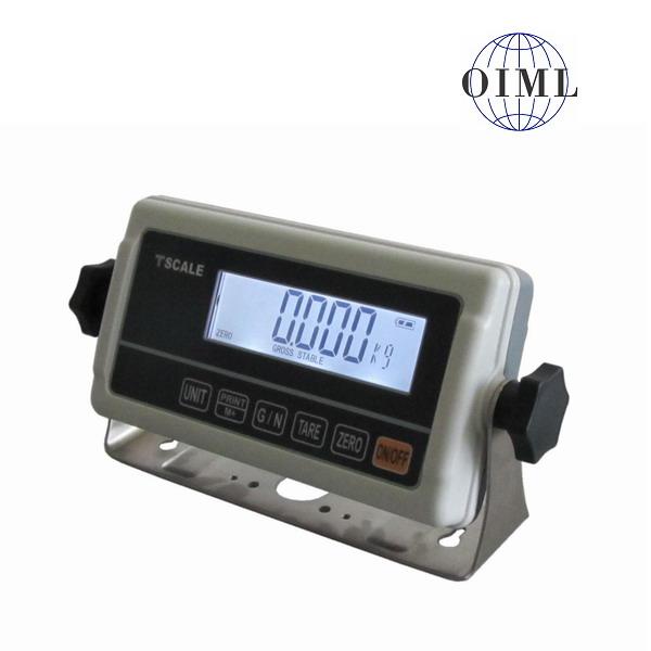 TSCALE RWP, IP-54, plast, LCD (Vážní indikátor pro obchodní vážení)