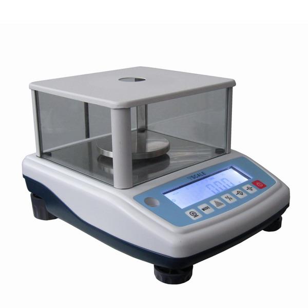 TSCALE NHB1500+, 1500g/0,01g, 120mm (Levná profesionální laboratorní váha pro přesné vážení)