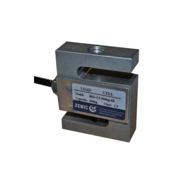 ZEMIC B3G, 2,5t, IP-67, nerez (Tenzometrický tahový snímač do 2,5t ZEMIC model B3G)