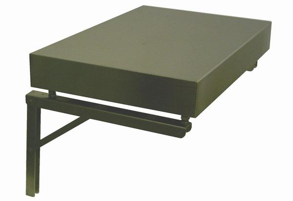 LESAK SND4060N, nerez (Sklopný držák pro uchycení váhy na stěnu)