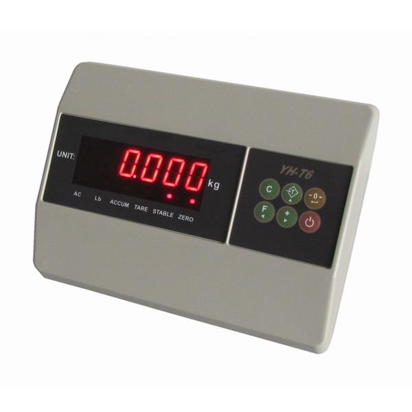 YAOHUA T6, IP-54, plast, LED (Vážní indikátor pro kontrolní vážení)