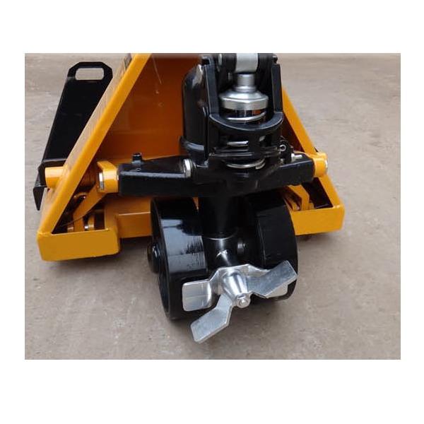 LESAK PV4T (Nožní brzda na přední kolo k paletovému vozíku )