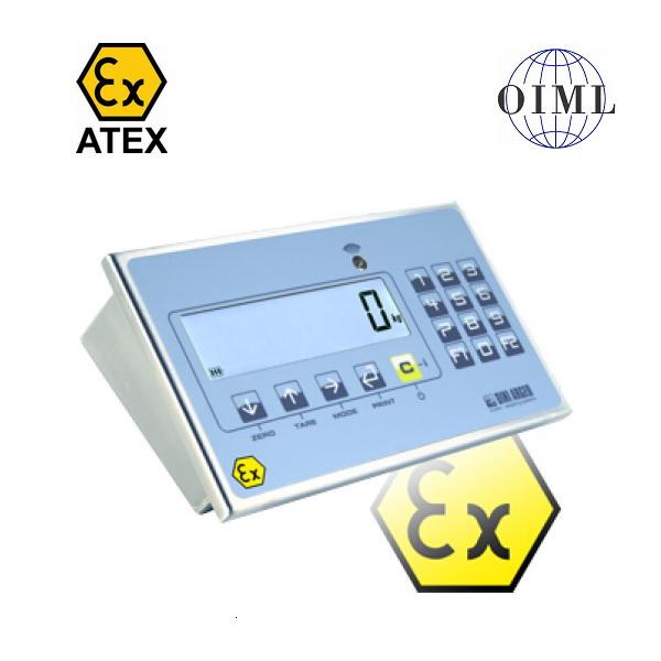 DINI ARGEO DFWLKI3GD-1, IP-68, nerez, LCD (Vážní indikátor pro ATEX zóny II 3G a II 3D)