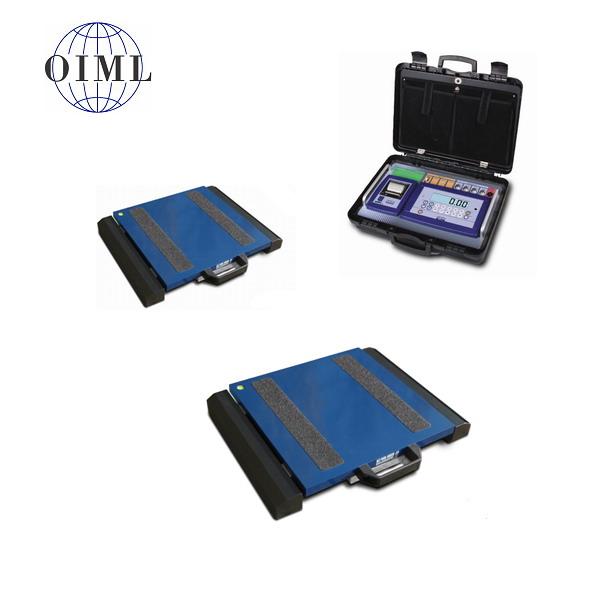 DINI ARGEO WWSB, 6t/2kg, 300mmx400mm (Přenosná vážící platforma pro zjištění zatížení kol nebo náprav soupravy)