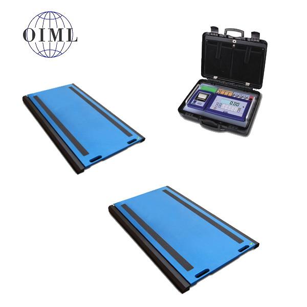 DINI ARGEO WWSD, 12t/5kg, 900mmx500mm (Přenosná vážící platforma pro zjištění zatížení kol nebo náprav soupravy)