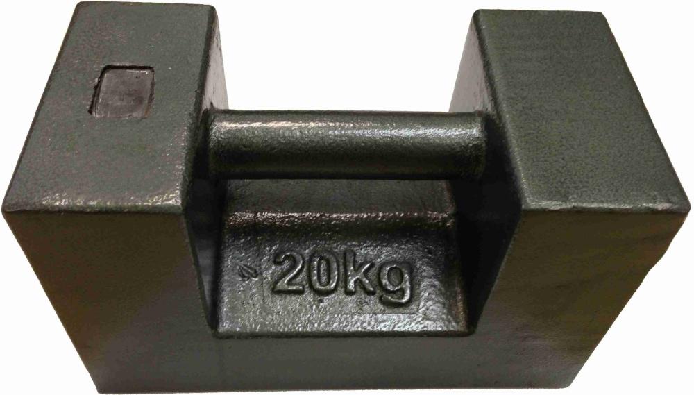 Závaží litinové 20kg třídy M1 (Závaží litinové 20kg třídy M1)