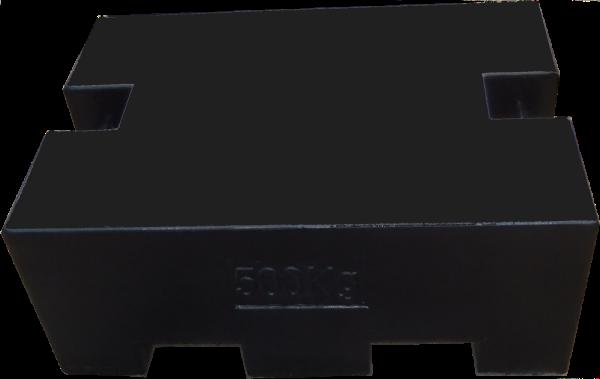 Závaží - blok litinový 500kg třídy M1 (Závaží - blok litinový 500kg třídy M1)