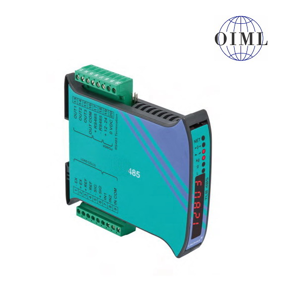 LAUMAS TLB-485, IP-54, plast, LED (Vážní indikátor osazen RS485, 3 výstupy, 2 vstupy)