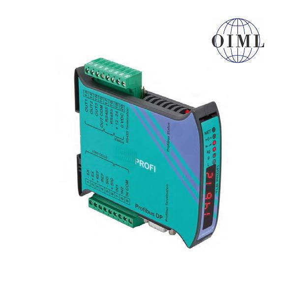 LAUMAS TLB-PROFI, IP-54, plast, LED (Vážní indikátor s komunikačním rozhranním PROFIBUS , RS485, 3 výstupy, 2 vstupy)