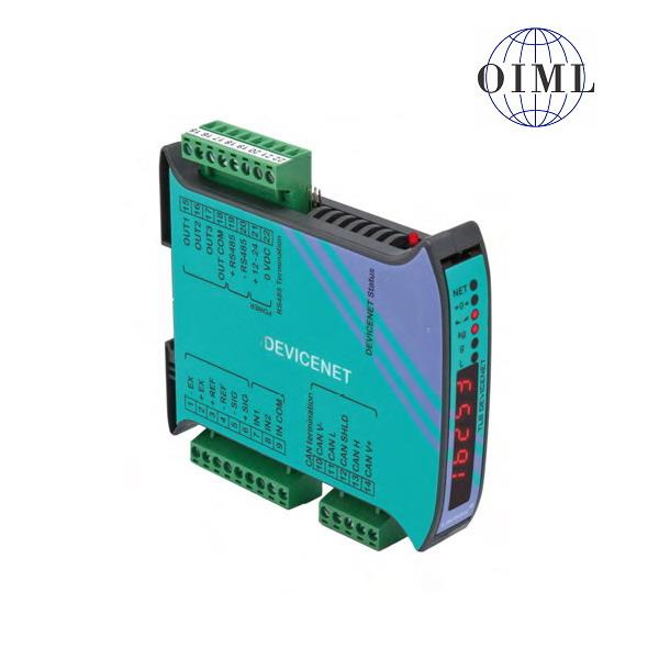 LAUMAS TLB-DEVICENET, IP-54, plast, LED (Vážní indikátor TLB s komunikačním rozhranním DEVICENET , RS485, 3 výstupy, 2 vstupy)