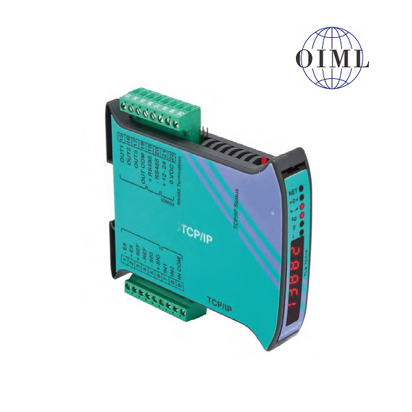 LAUMAS TLB-TCP/IP, IP-54, plast, LED (Vážní indikátor s komunikačním rozhranním ETHERNET TCP/IP , RS485, 3 výstupy, 2 vstupy)